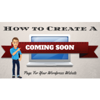 creating a coming soon page for wordpress using thrive themes