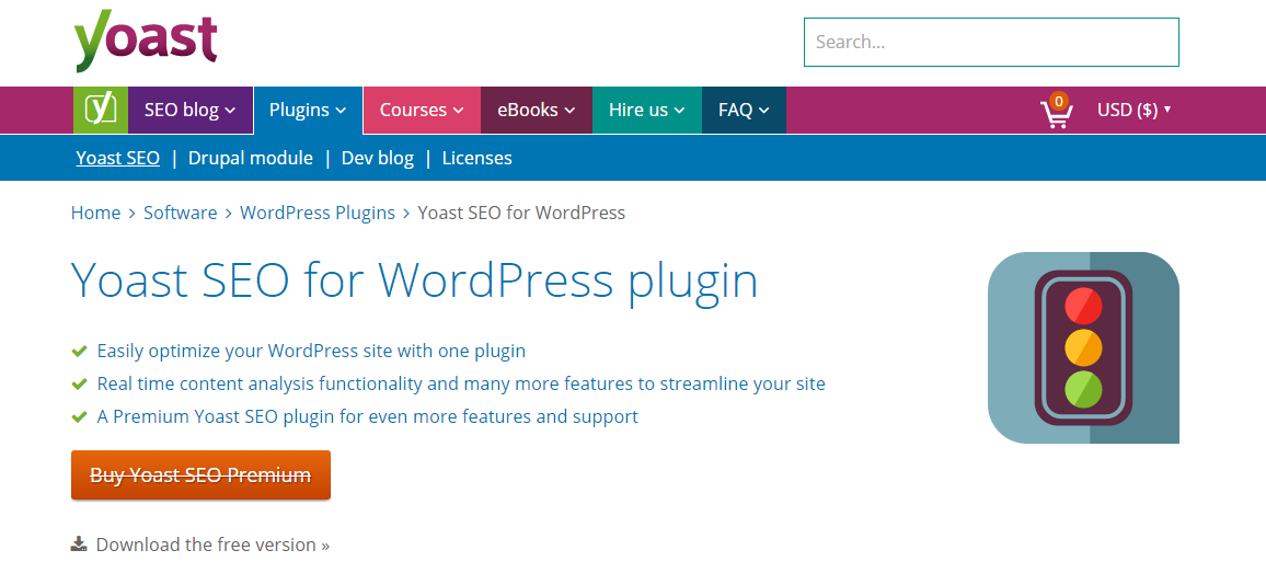 seo yoast wordpress plugin