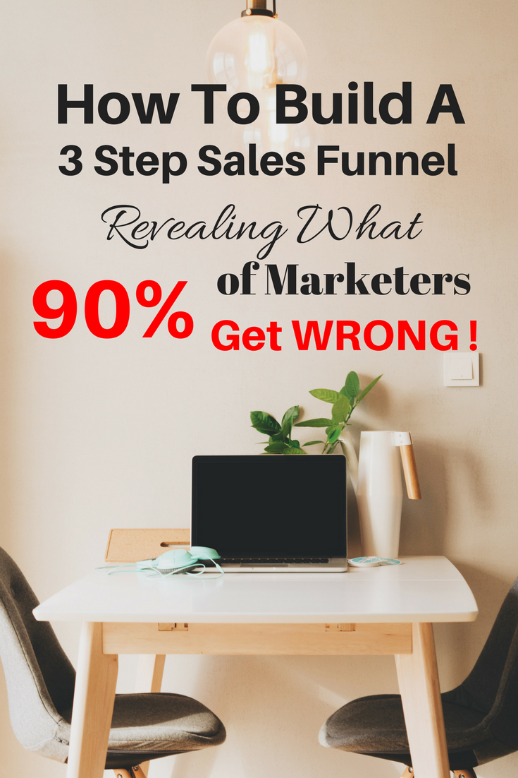 how to build a 3 step sales funnel