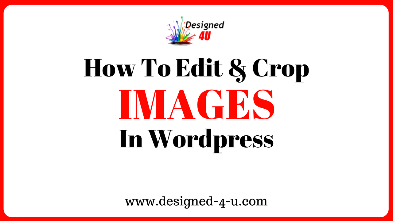 edit and crop images in wordpress