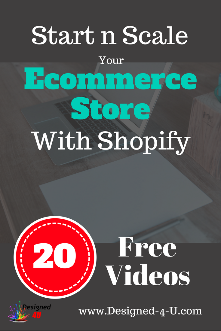 start your own ecommerce sttore
