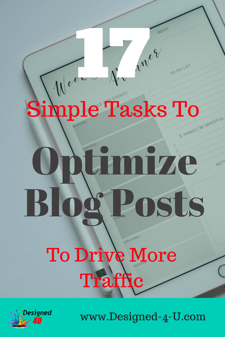 optimize blog posts