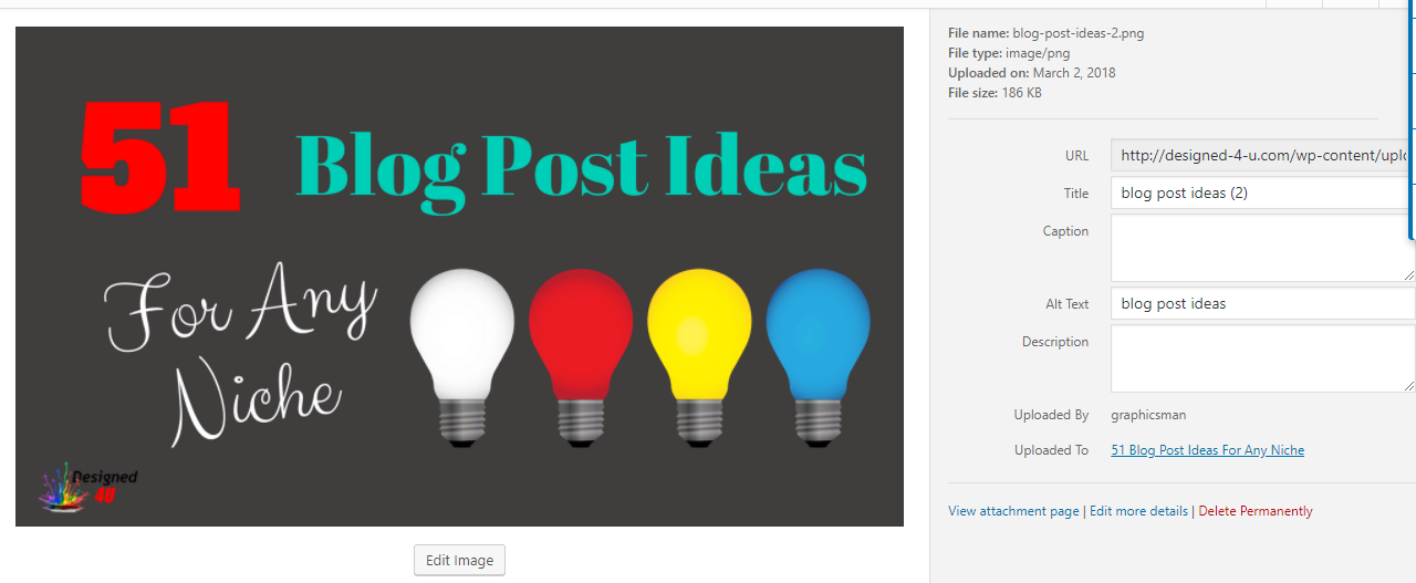 Optimizing Blog Posts